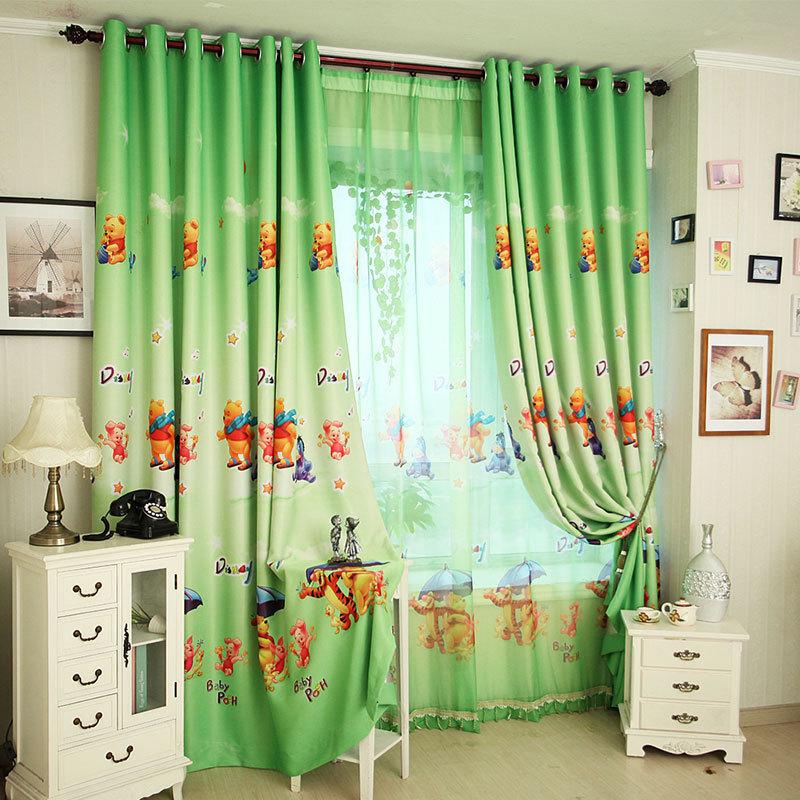 rideau rideau winnie l 39 ourson. Black Bedroom Furniture Sets. Home Design Ideas