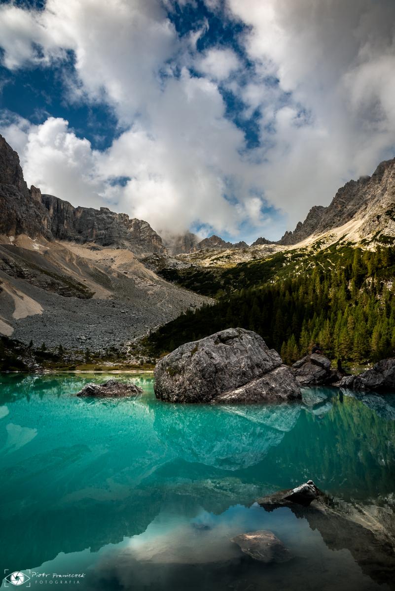 Najpiękniejsze jezioro w Dolomitach Lago di Sorapis
