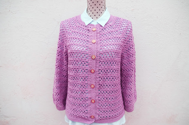 5 - Crochet Imagenes Chaqueta primavera a crochet y ganchillo por Majovel Crochet