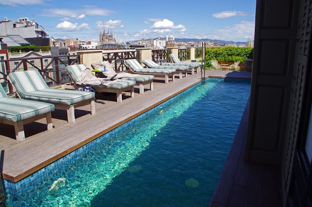 Rooftop Pool Cotton House Hotel Barcelona