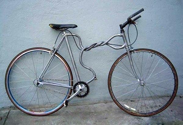 Велосипедная рама от дизайнера