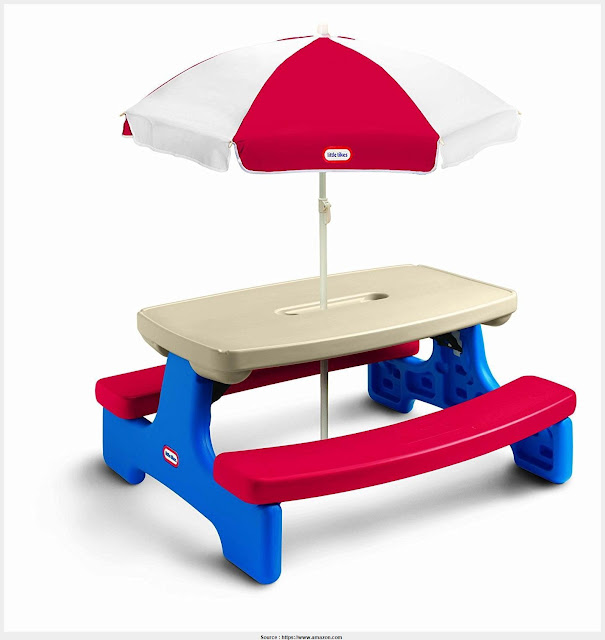 Download Little Kids Picnic Table Photo