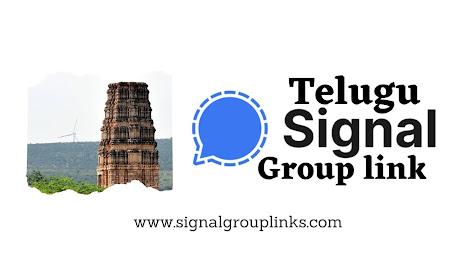 Telugu Signal group links
