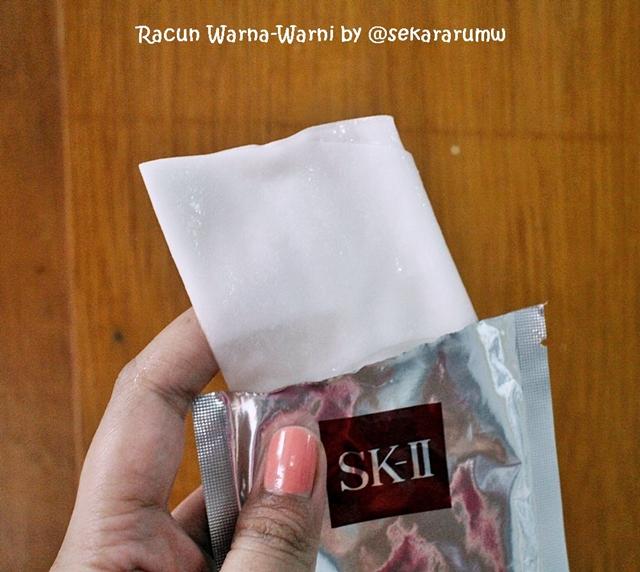 Unboxing Masker SK II
