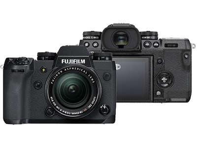 Fujifilm X-H1ミラーレスデジタルカメラファームウェアダウンロード