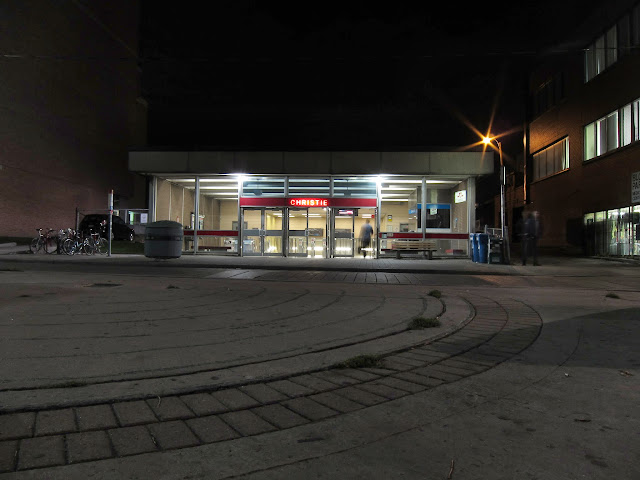 The TTC's Christie subway station