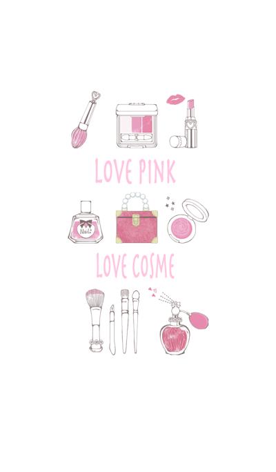 LOVE PINK LOVE COSME