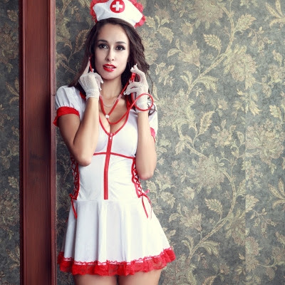 Very sexy nurses uniform for cosplay and other fun
