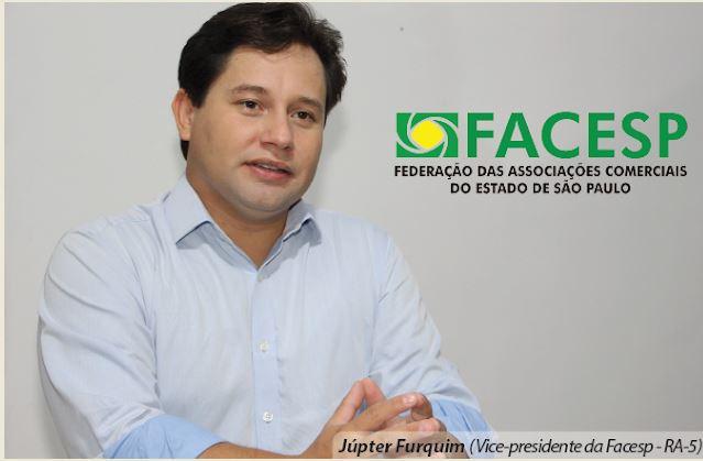 Vice-presidente da Facesp-RA5 Júpter Furquim