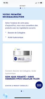recommandation nivea - journal de peau