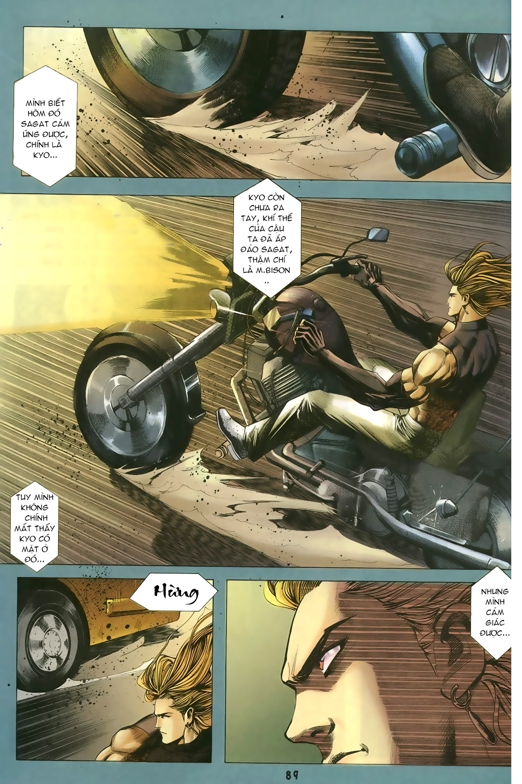 Capcom vs SNK Ngoại truyện chap 5 - Trang 5