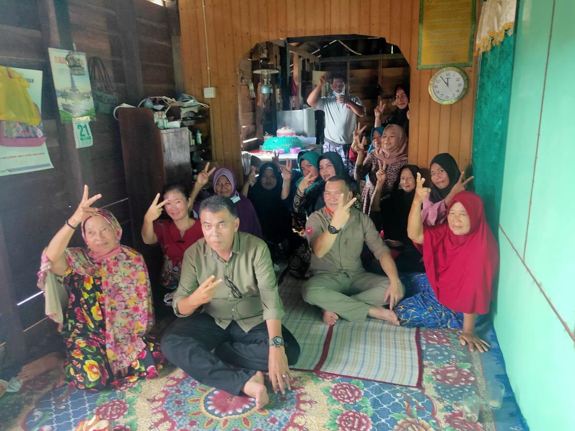 Gelar Kampanye di Desa Tanjung Batang, Paslon WS-RH Janji Akan Konsisten Dengan Programnya