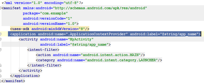 Android Get Application Context - My Android Solutions