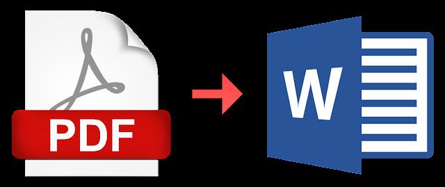 Tutorial : Menukar Format PDF ke Word Menggunakan Microsoft Office Word