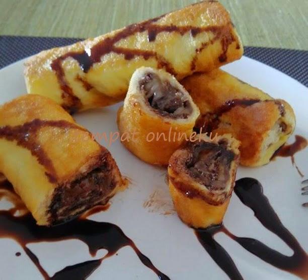 resep roti tawar gulung coklat keju