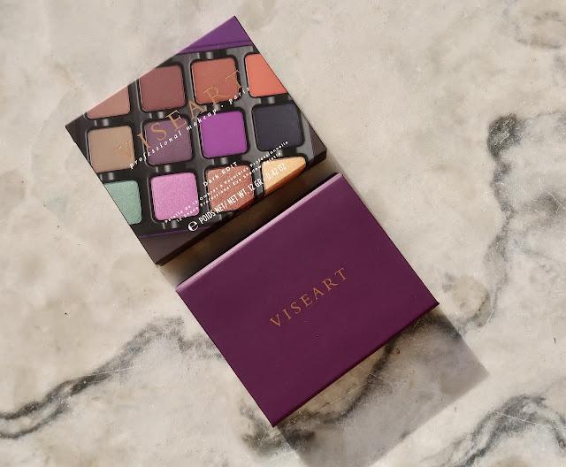 Viseart Dark Edit Eyeshadow Palette review price swatch morena filipina beauty blog