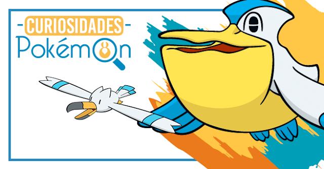 Curiosidades Pokémon: Wingull e Pelipper
