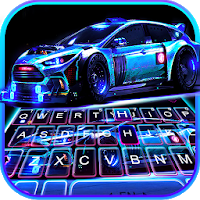 Racing Sports Car Keyboard Theme Apk free Download for Android