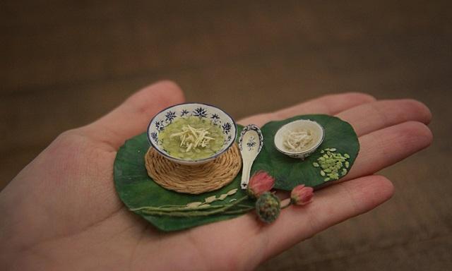 Đặc sản Việt tí hon bằng đất sét