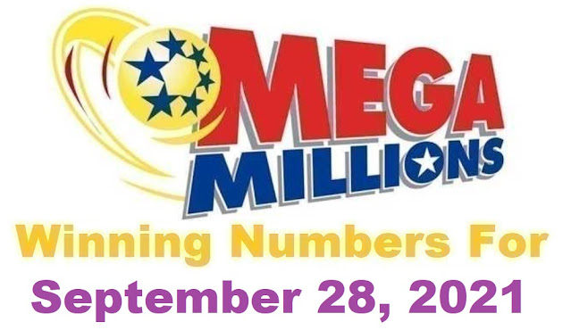 Mega Millions Winning Numbers for Tuesday, September 28, 2021