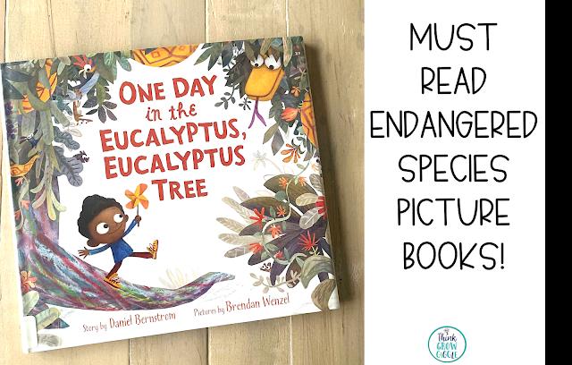 endangered animals book for kids