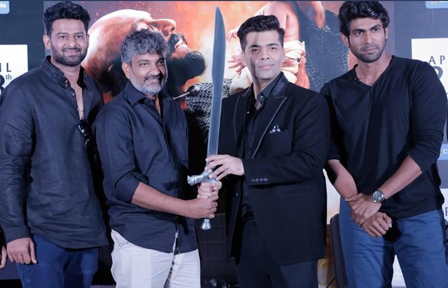 Baahubali team, Prabhas, Rana and Rajamouli to appear on Koffee With Karan 6!