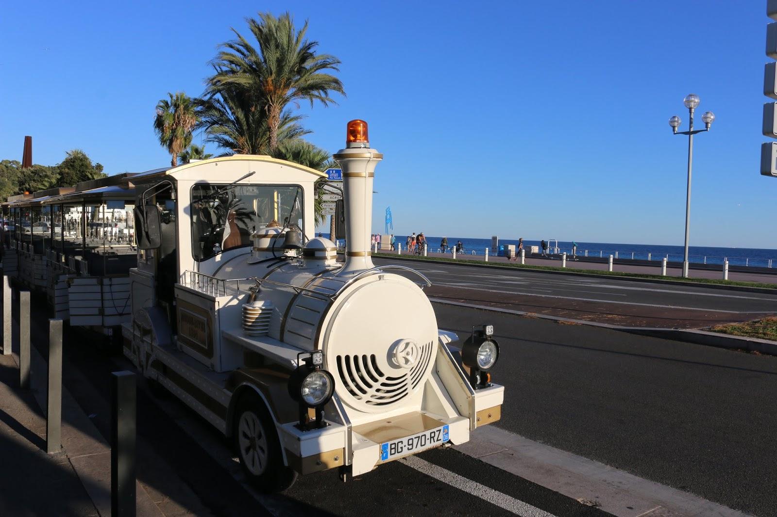 Nice Promenade des Anglais Le Petit Train