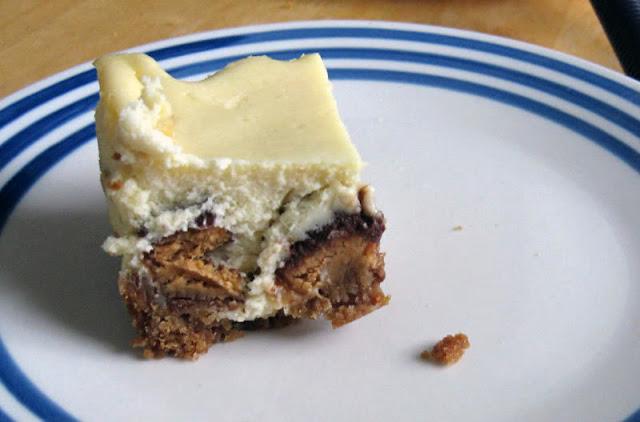 Reese's Cheesecake Bars by freshfromthe.com