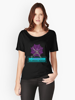 Vote For Roy Orbison the Spider t-shirt