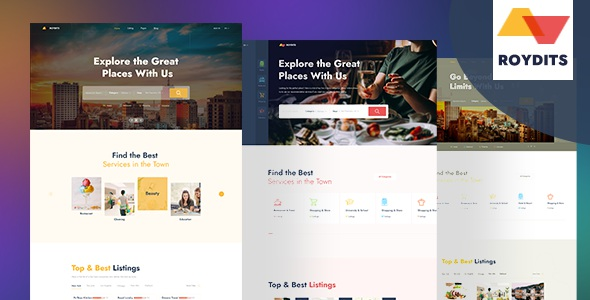 Best Directory Listing PSD Template