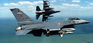 Έξι τουρκικά F-16 ήταν οπλισμένα