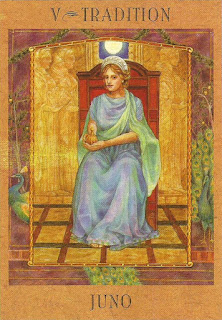 The Goddess Tarot - Juno