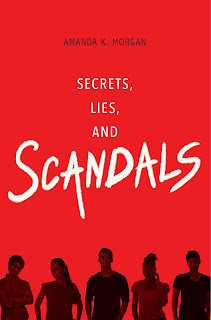 Secrets, Lies, and Scandals by Amanda K. Morgan book cover
