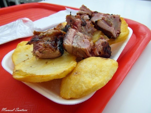 Lima, Larcomar, pranzo a La Lucha Sangucheria Criolla