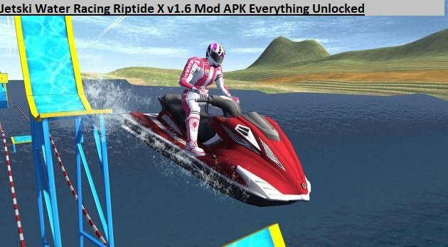 Jetski Water Racing Riptide X v1.6 Mod APK Everything Unlocked