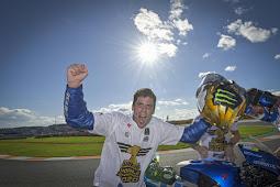 Pembalap Suziki Ecstar, Joan Mir JadiJuara Dunia MotoGP 2020 di Gran Prix Valencia