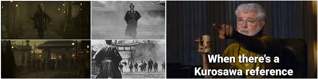 kurosawa references in the Mandalorian