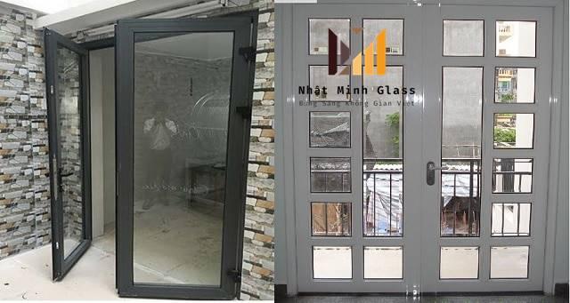 Mẫu Cửa Nhôm Xingfa 2 Cánh Đẹp