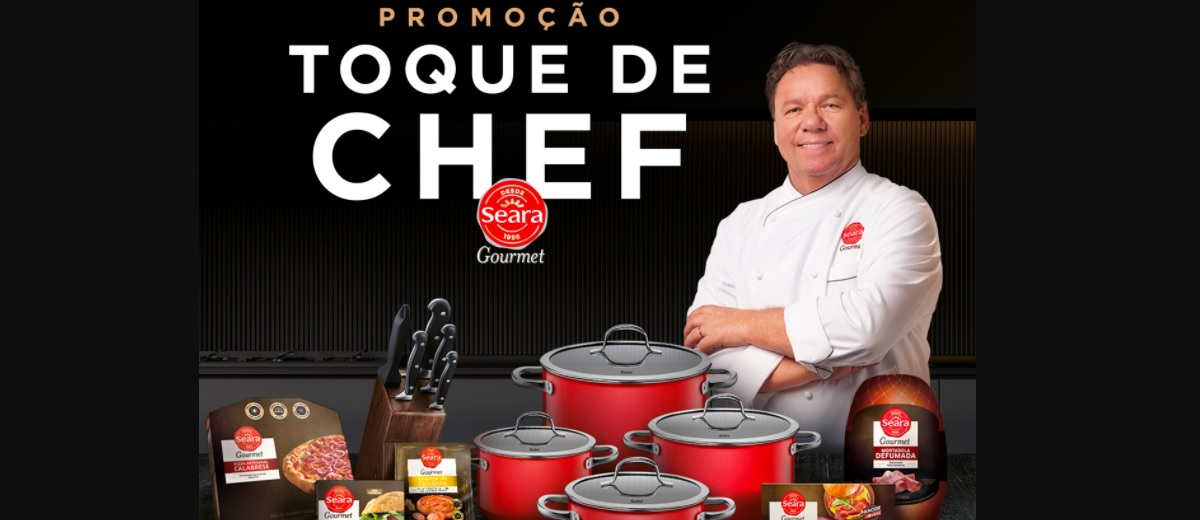 Participar Promoção Toque de Chef Seara Gourmet Juntar Selos Trocar Prêmios Exclusivos