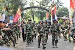 Siapkan Pasukan Terlatih Tangani Kejahatan Terorganisir, Kapolda Jateng Buka  Latihan KLBM Satbrimob Polda Jateng