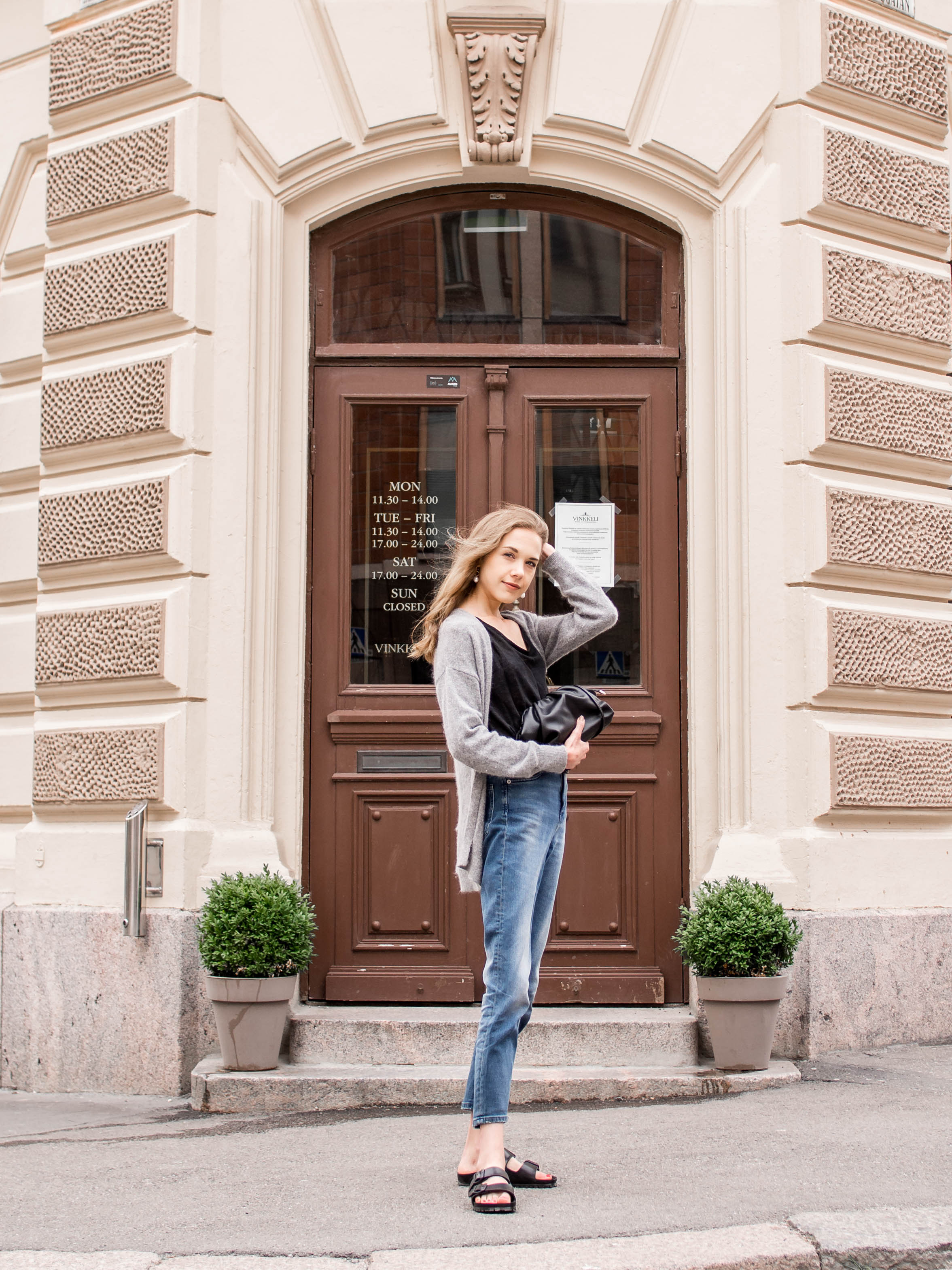 Casual fashion blogger denim outfit - Farkut, muotibloggaaja, asuinspiraatio