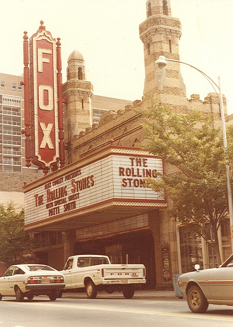 Ed S Attic Atlanta Fox Theater 1981 The Rolling Stones