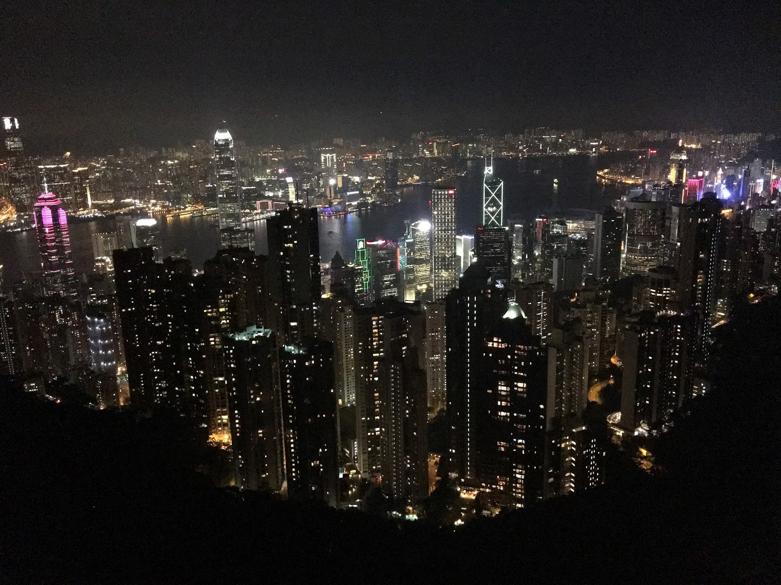 Victoria Peak Sky Lounge 428 Hong Kong Skyline View - Aspiring Londoner