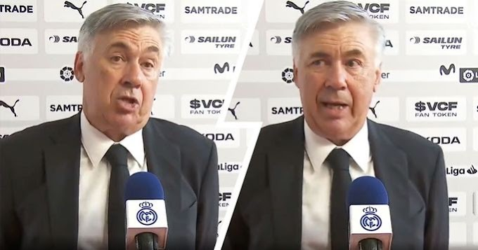 Ancelotti lauds his team  fighting spirit after Valencia comeback