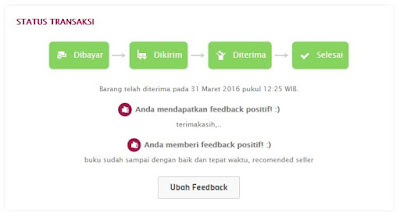 pengalaman belanja di bukalapak.com