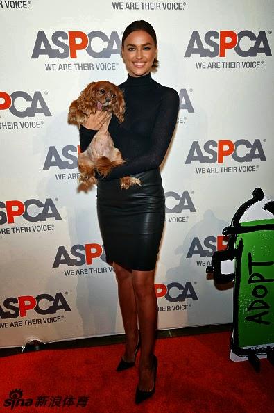 7146bc4a Irina Shayk, ceñida y transparente en ASPCA como solidaria con los animales