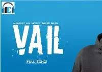 Vail Lyrics   Mankirt Aulakh Mp3 Song Download