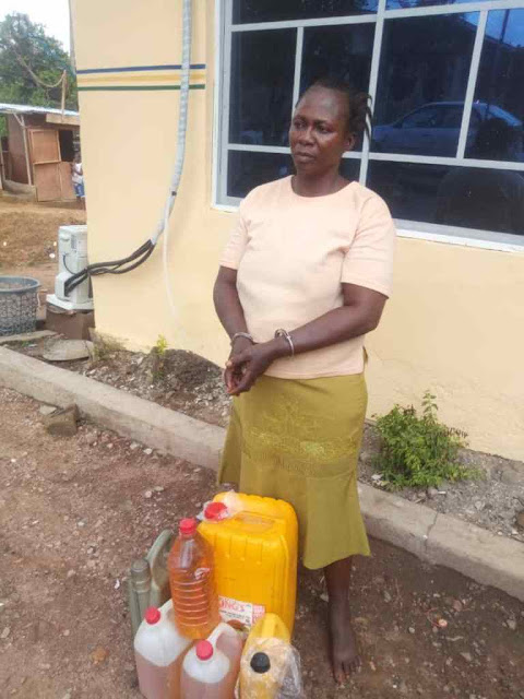 Police Discover illegal oil wells in Lagos