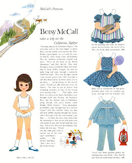 vintage Betsy McCall Paper Doll