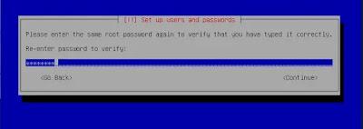 Password Root Repeat